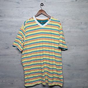 Vintage Rocawear Striped T Shirt. AMAZING! Perfect